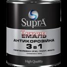 """Грунт-эмаль 3 в 1 Серая алкидно-уретановая """"Supra"""" 2,5 кг"""
